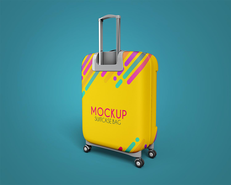 яркий чехол для чемодана