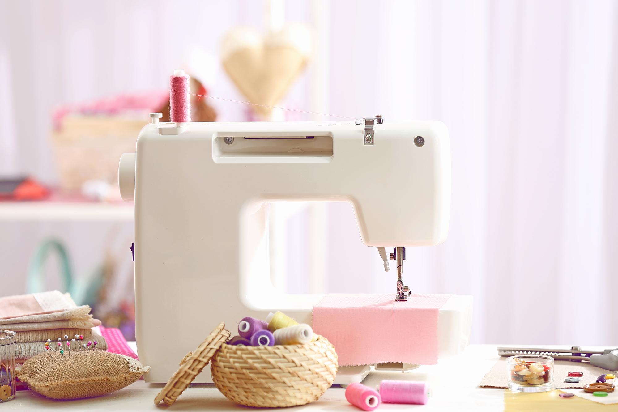пошив чехла на швейной машине