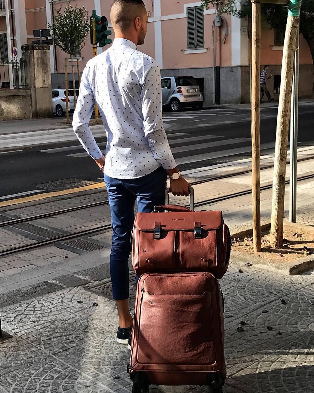 размеры чемоданов в дюймах и см