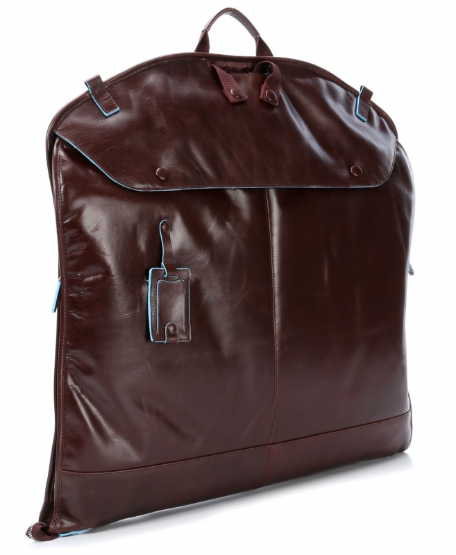 c2ee435cf6f0 Портплед Piquadro PA1617B2/MO кожаный коричневый для переноски костюма.  Коллекция. Blue Square