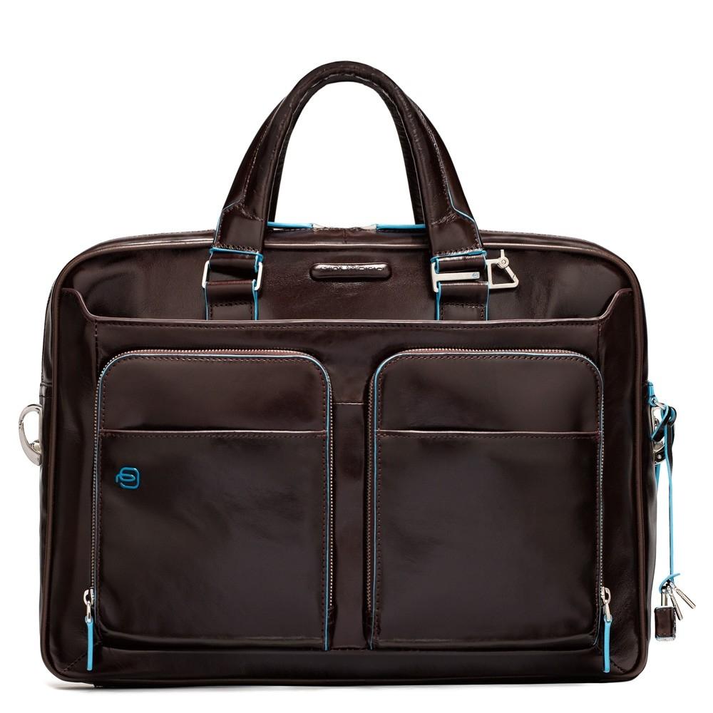 6e49a2da706c Сумка Piquadro CA2849B2/MO кожаная красно-коричневая — купить в официальном  интернет-магазине пиквадро