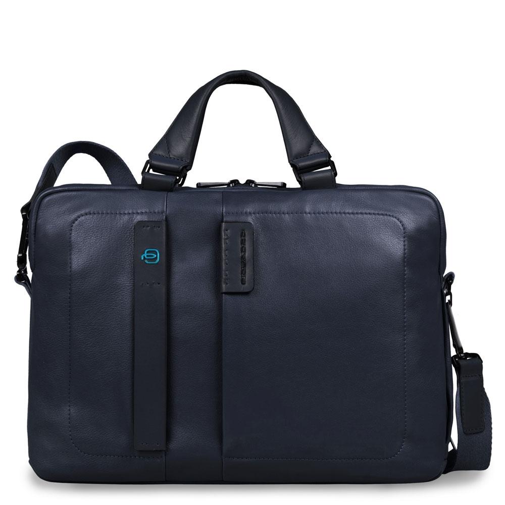 4213e78bac34 Сумка Piquadro CA1903P15/BLU3 кожаная синяя — купить в официальном интернет-магазине  пиквадро