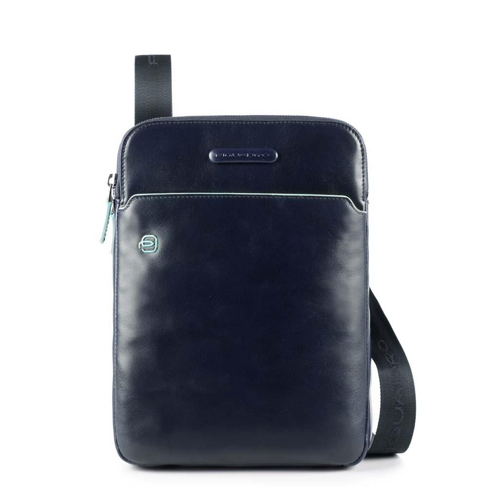 e346ea248108 Сумка Piquadro CA3978B2/BLU2 кожаная через плечо темно-синяя — купить в официальном  интернет-магазине пиквадро