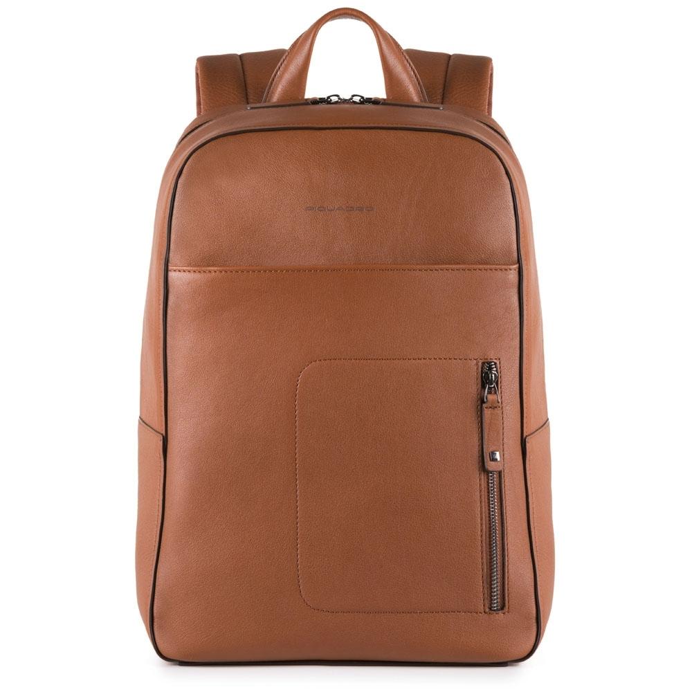 6af8156c39f4 Рюкзак Piquadro CA4092W86/CU кожаный для ноутбука табачный — купить ...