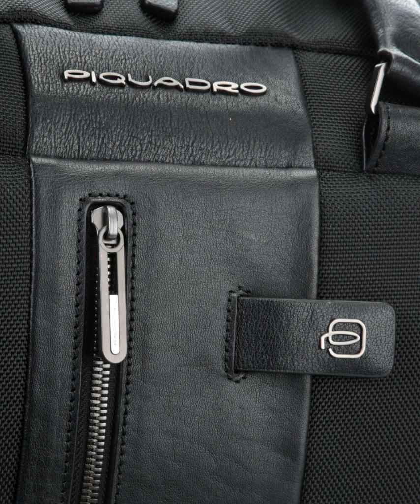 8248b8e7b2c8 Дорожная сумка Piquadro BV4447BR/N черная — купить в официальном ...