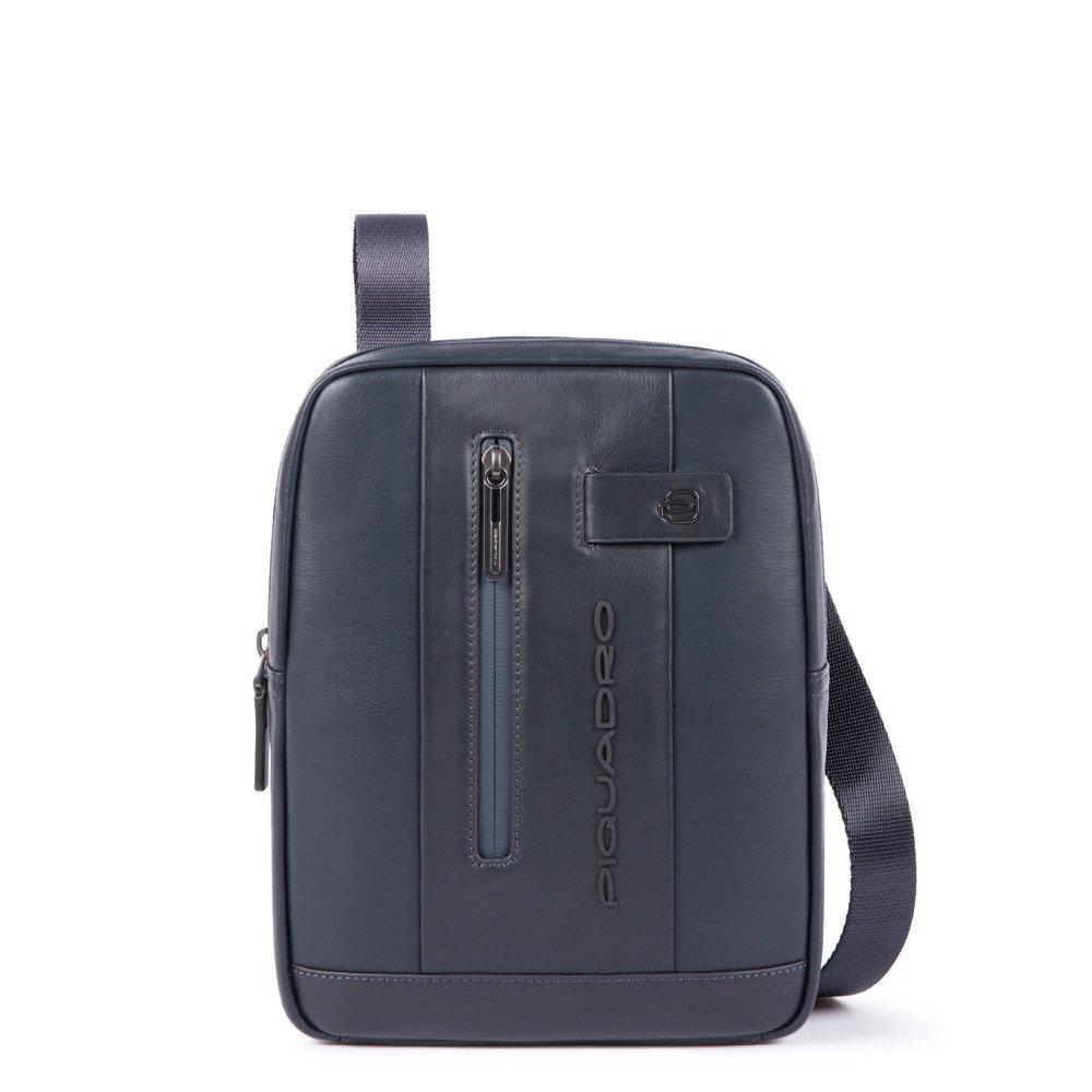 93565ad7c8f5 Сумка через плечо Piquadro CA1816UB00/BLU кожаная синяя — купить в официальном  интернет-магазине пиквадро